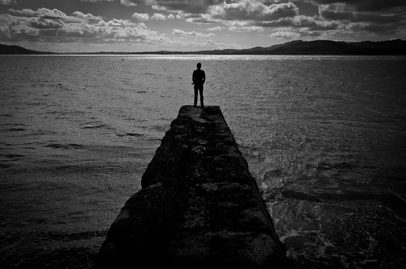 Alone Edge Of Water Pier Alone Photography Alone Man About Me Blog