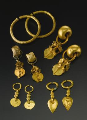 Korean Gold Jewelry Three Kingdoms