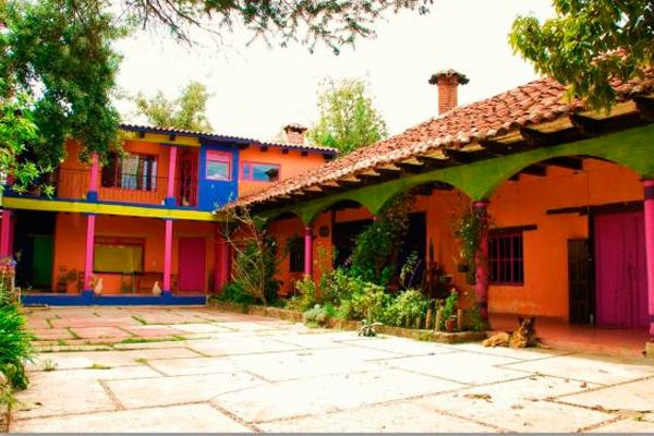 Bright Mexican Colonial Home