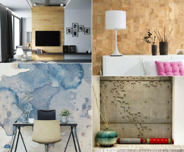 Wandgestaltung Ideen Für Moderne Und Attraktive Einrichtungen