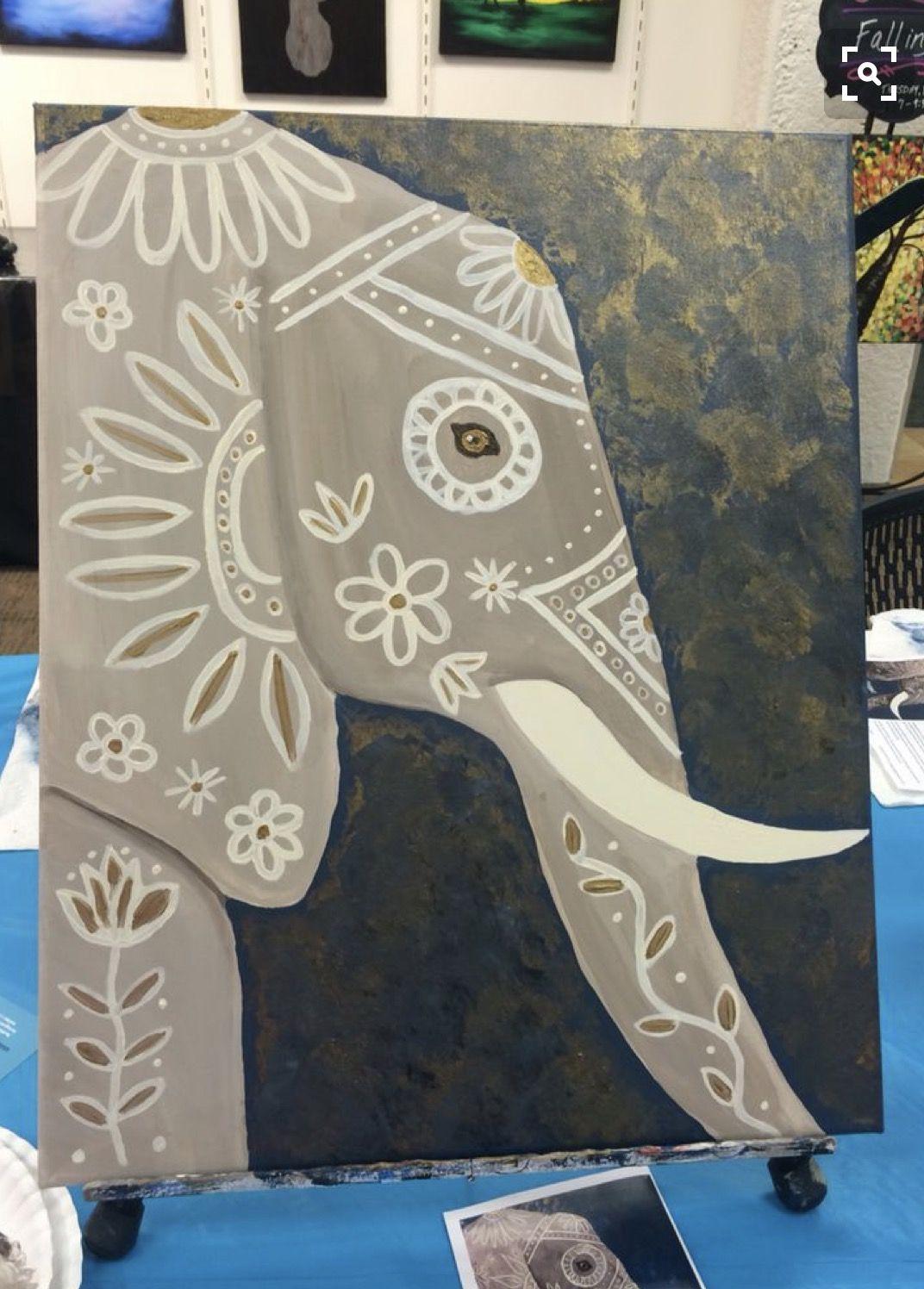 Pin de Jamie Wakefield en #Elephantastic | Pinterest | Cuadro ...