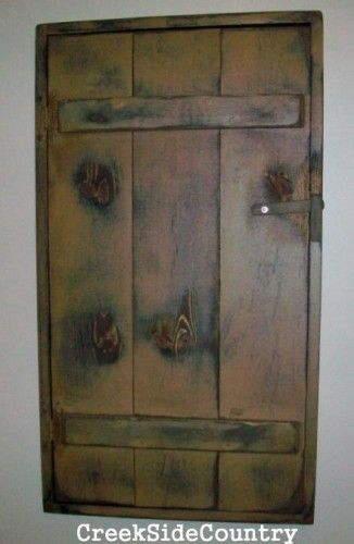 CreekSideCountry on Artfire.com | Fuse box cover, Fuse box, Breaker box  cover | Wooden Framed Doors Over Fuse Box |  | Pinterest