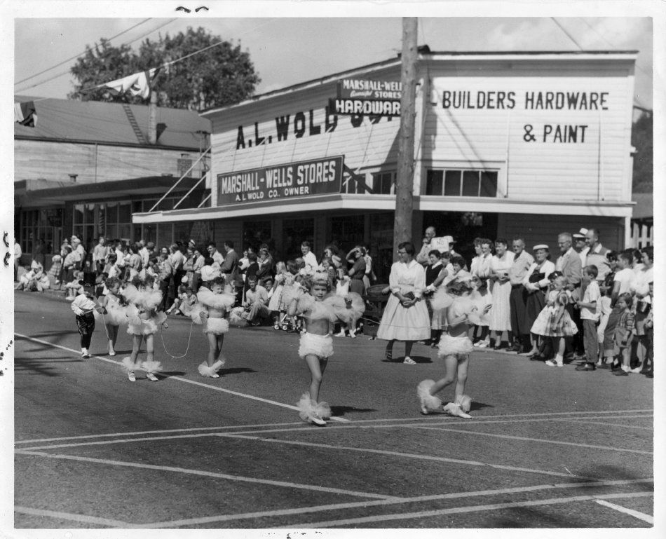 Labor Day Parade Circa 1950s Issaquah Wa By The 1950s