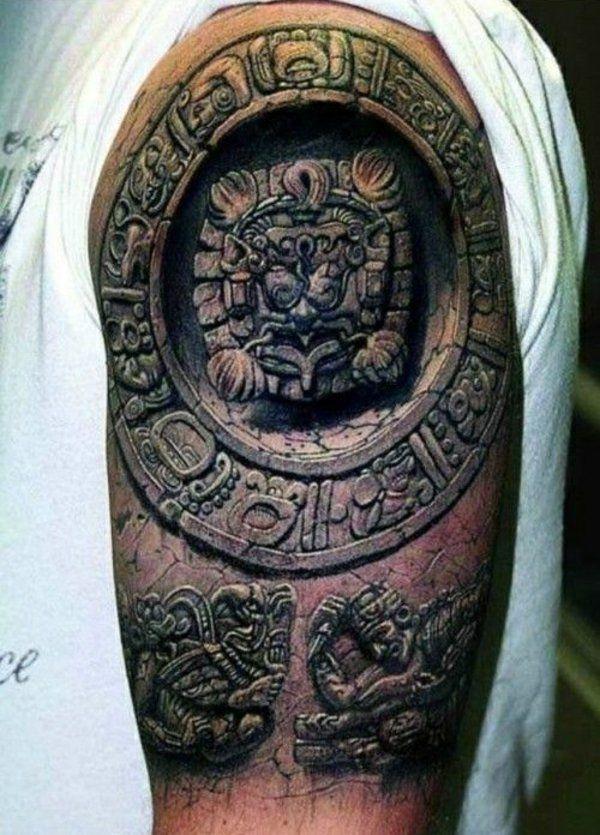 tattoo motive coole tattoos 3d am oberarm