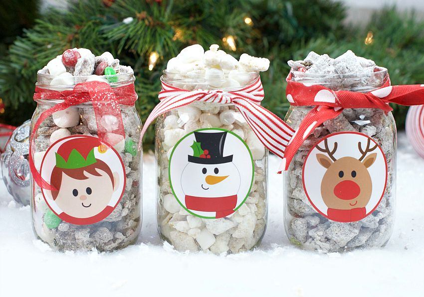 25 Fun  Simple Gifts for Neighbors this Christmas Christmas puppy