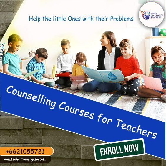 counselling teachers courses teacher