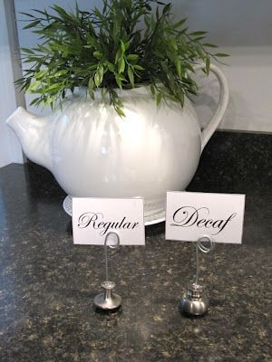 Too many knobs...place card holder