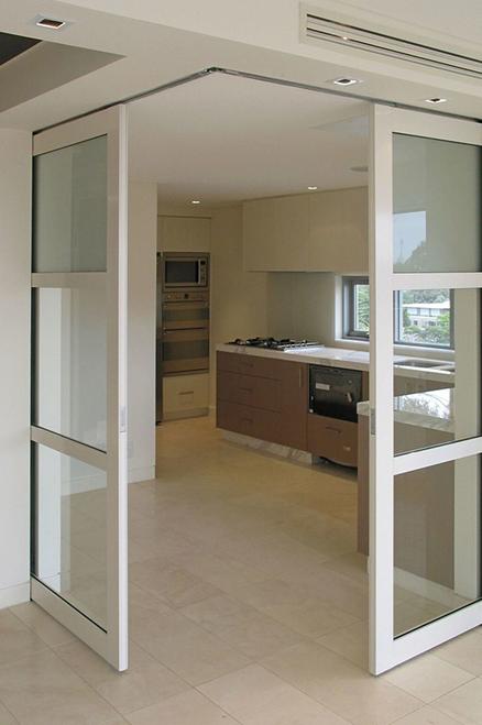 Ceiling Flush Mount Sliding Pocket Door Hardware Kit Interior Barn Door Hardware House Design Home