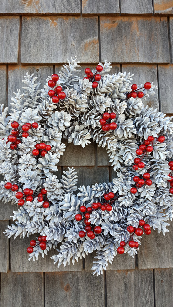 Photo of Snow White Winter Berry Wreath