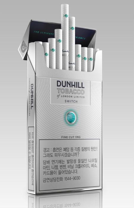 how to use dunhill switch