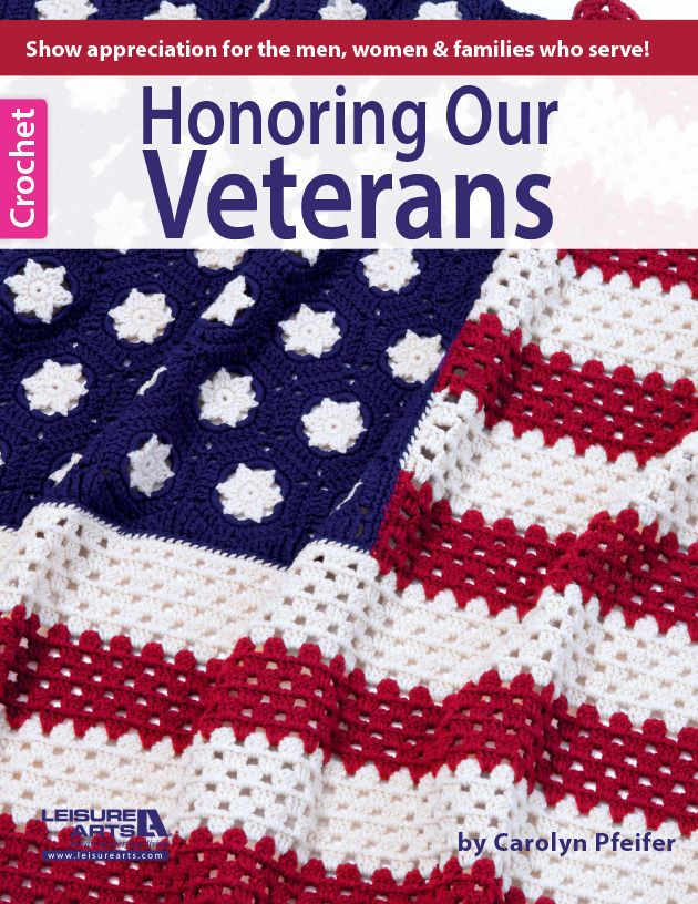 Honoring Our Veterans Crochet Afghan Patterns That Salute To Those