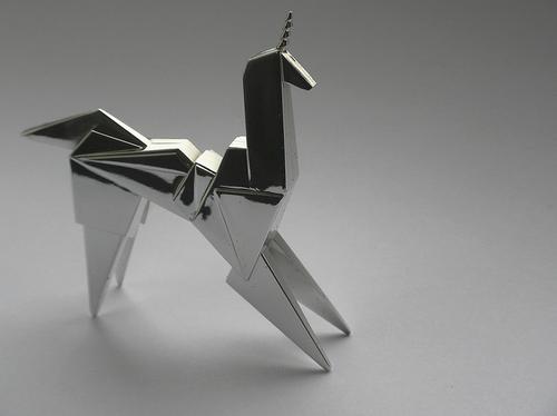 Blade Runner Origami Unicorn Pin: Blade Runner's Origami Unicorn