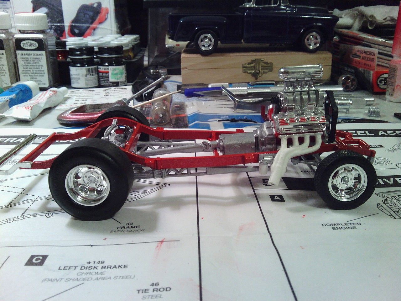 User Gallery Pictures Willys Drag Coupe Plastic Model Car Kit