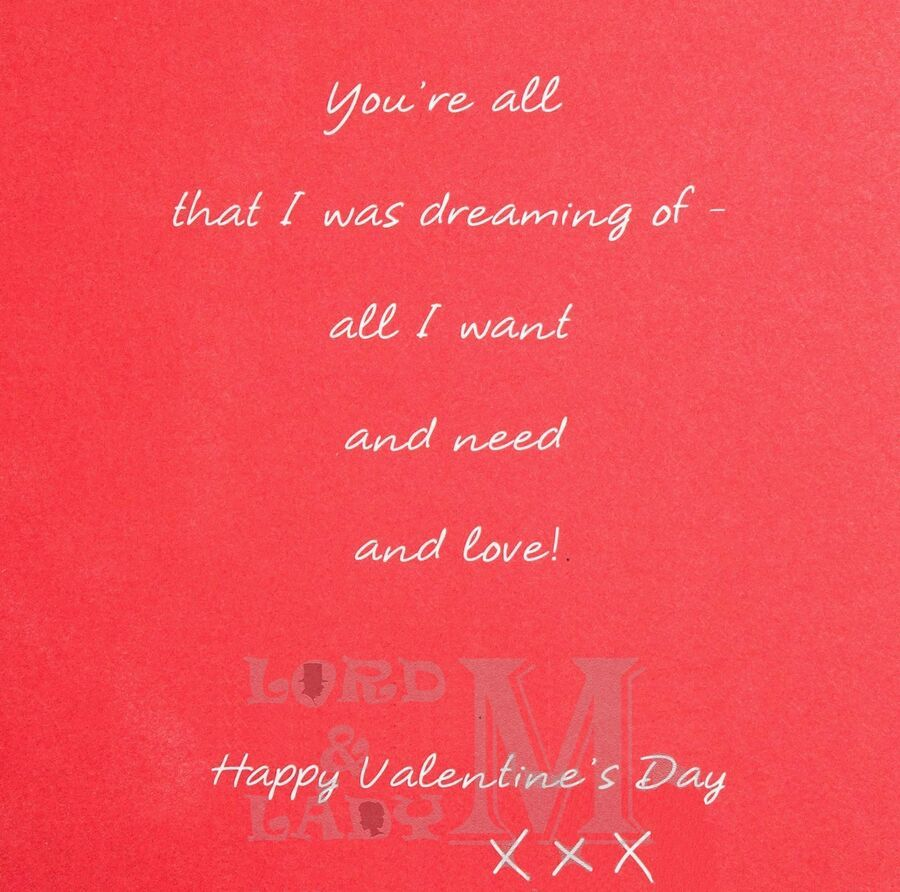Valentine S Day Card For Girlfriend Valentines Various Designs Available Ebay Girlfriend Valentines Happy Valentines Day Happy Valentine