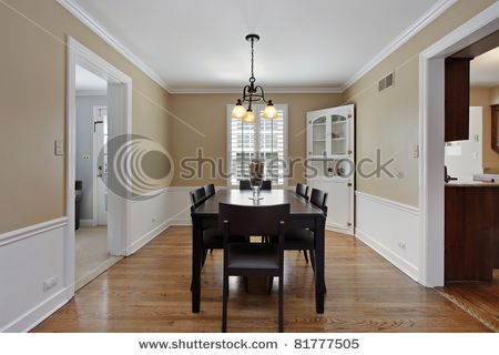 Light Wood Floor Tan Walls For The Home Tan Walls Home Dining Room