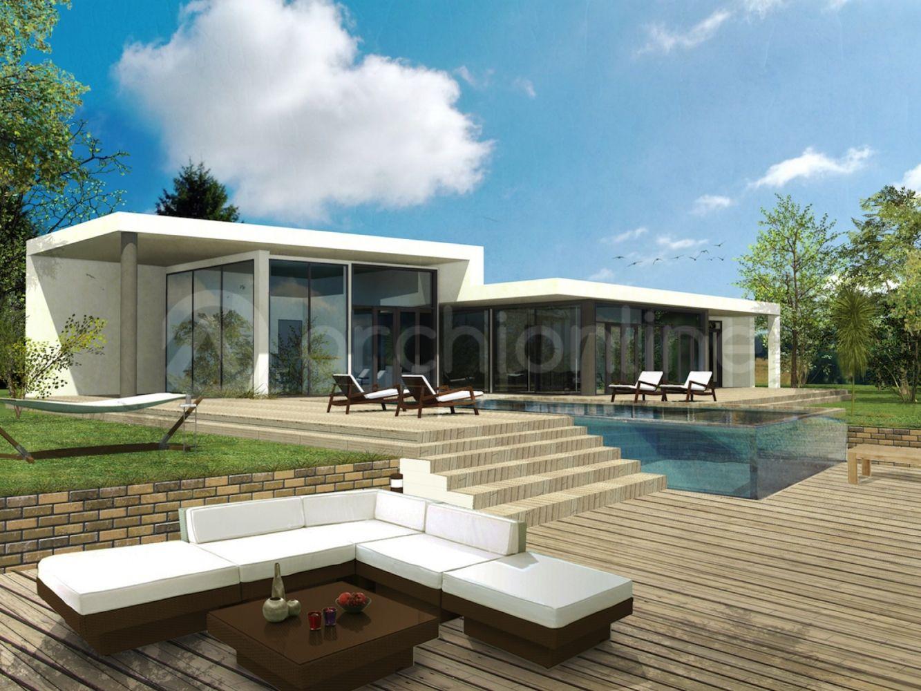 Plan Maison Moderne Maison Max Ce16789f5 Jpeg 1333 1000 Pinterest Projekte