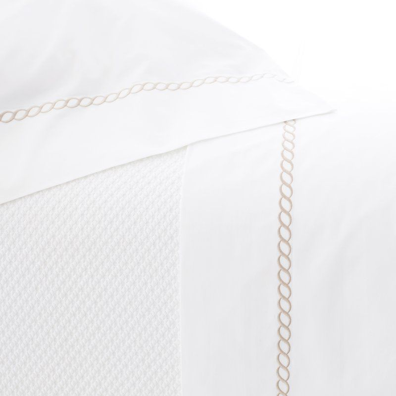 Helix 400 Thread Count Flat Sheet by Pine Cone Hill Linen - HLXLT