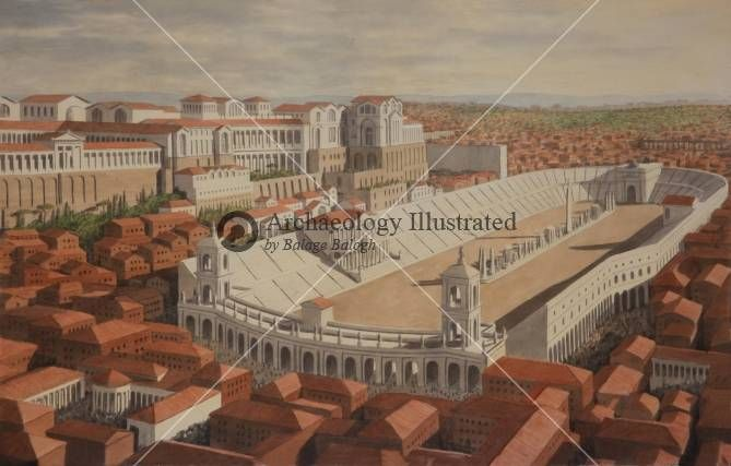 Rome, Palatine Hill and Circus Maximus, a New Reconstruction @ Bible Illustrations, Biblical Sermon Illustrations, Christian Pictures