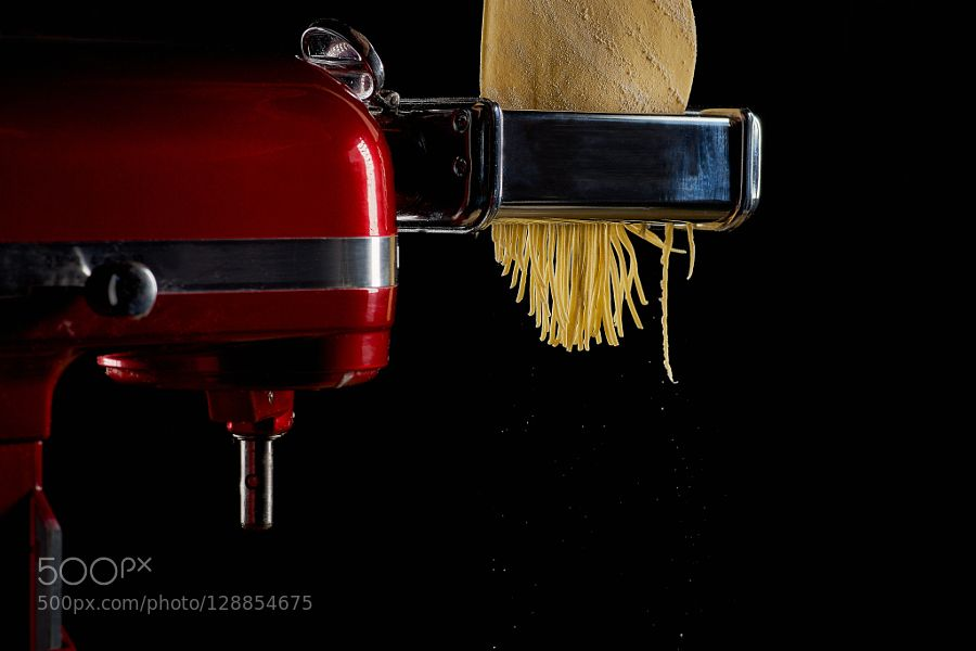Pic: Food Photography | Making Pasta