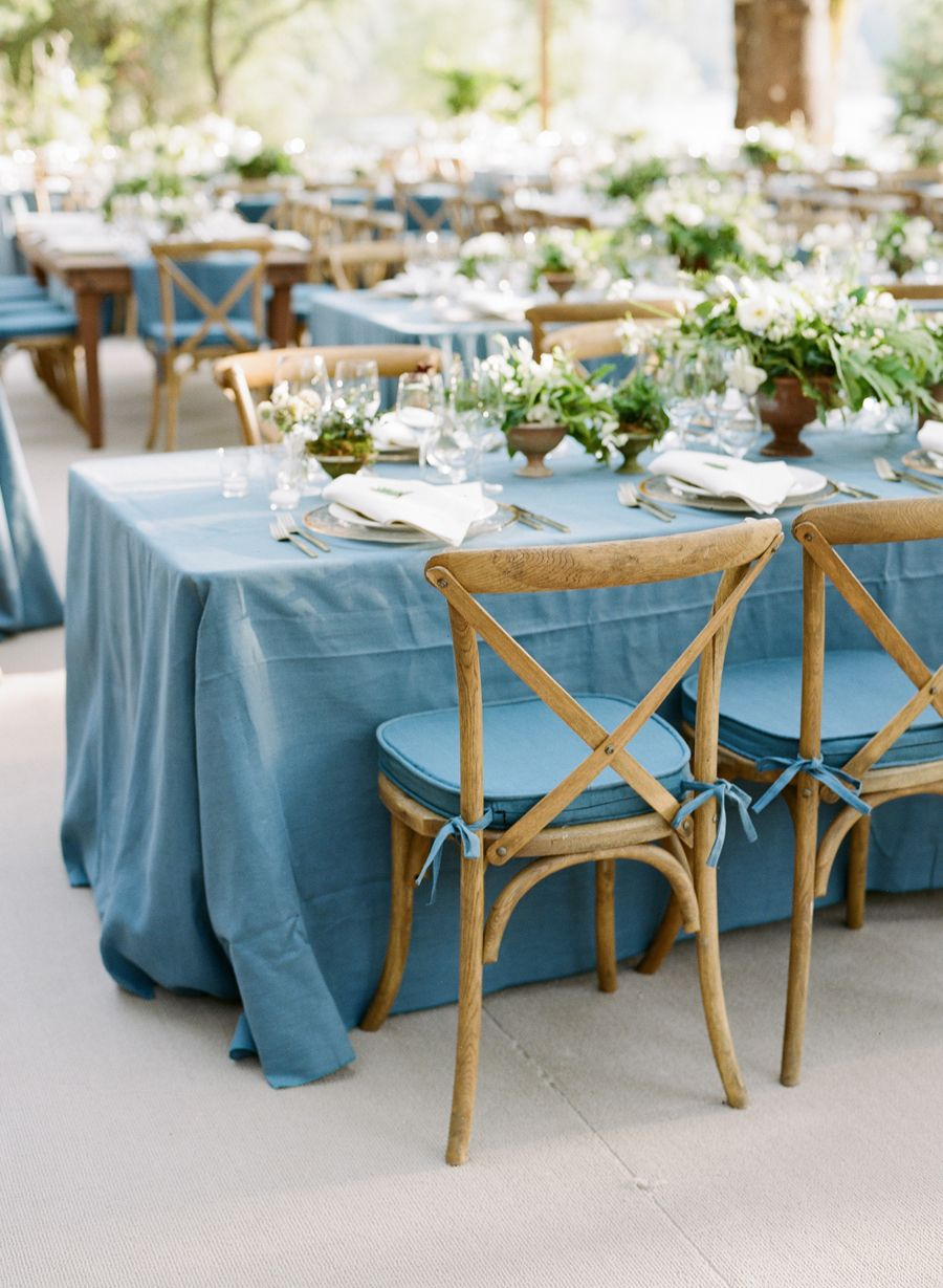 rustic waterside wedding in auburn ca wedding ideas wedding tablecloths blue wedding. Black Bedroom Furniture Sets. Home Design Ideas