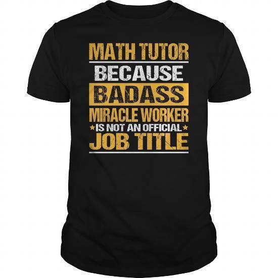 Awesome Tee For Math Tutor #Baseball