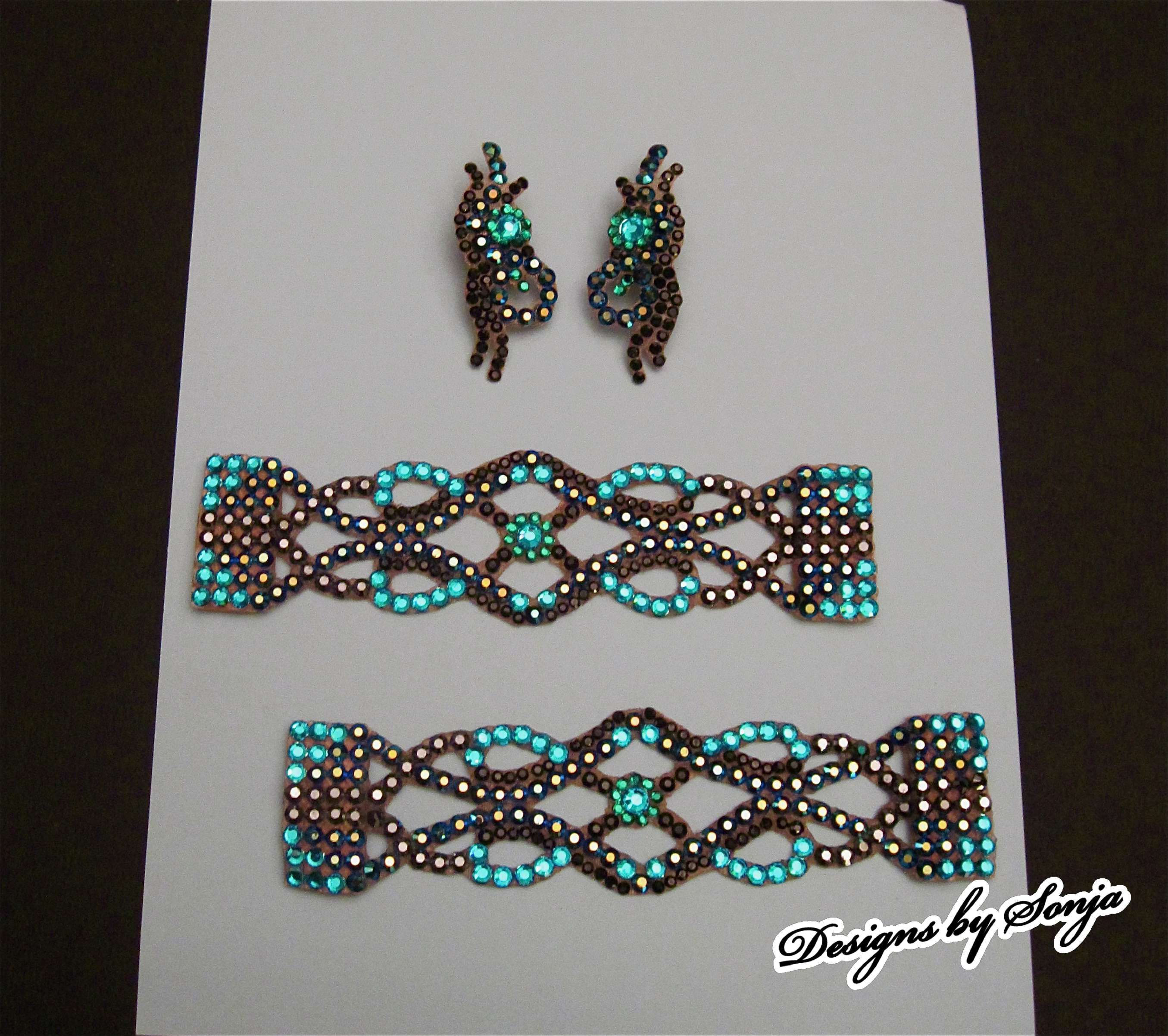 Latin Dance Earrings: Ballroom Jewelry, Ballroom Bracelets And Earrings