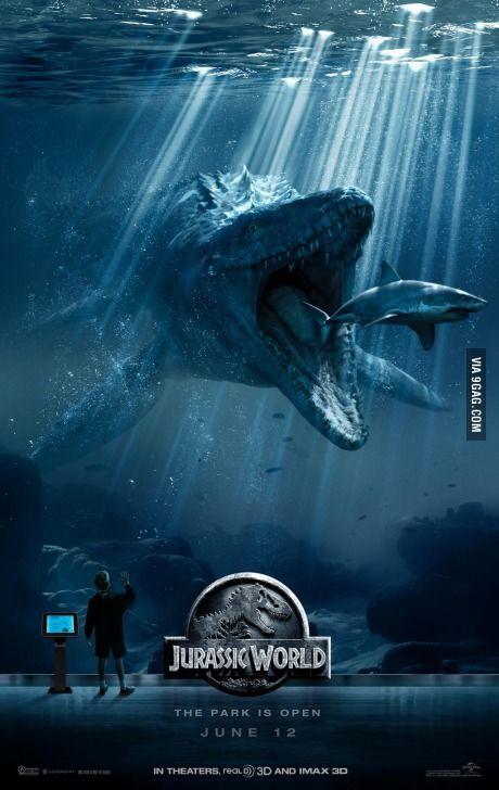 Second New Jurassic World Poster Two Days Til Trailer Jurassic World Wallpaper Jurassic World Movie New Jurassic World