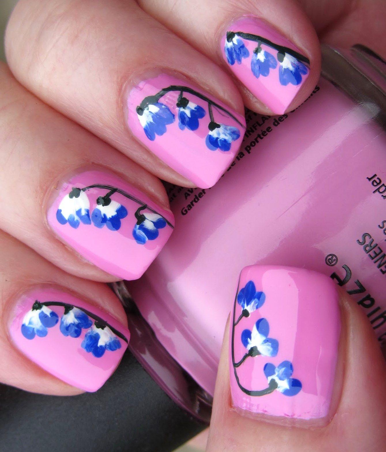 Stunning Nail Art Flowers | Nail Designs | Pinterest | Nail art ...