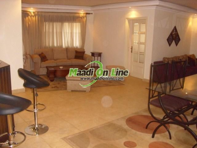 super deluxe apartment 4 rent /شقه سوبر لوكس للايجار. Real Estate Egypt, Cairo, Maadi, Degla, Excellent, Furnished Apartments for Rent, Divided into 2 BedroomsNo,1 Bathroom ()www.maadionline.com