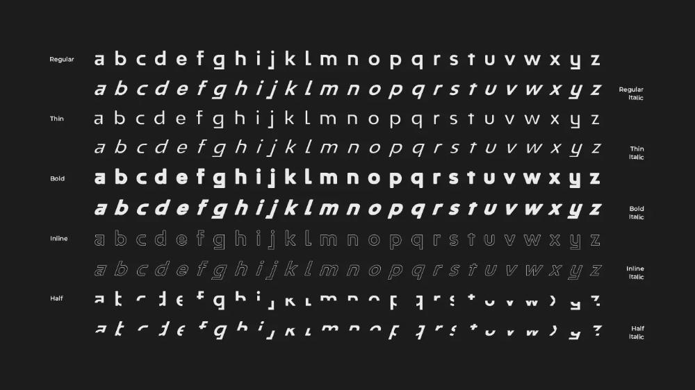Half Free Font Family Best Web Design Blog In 2020