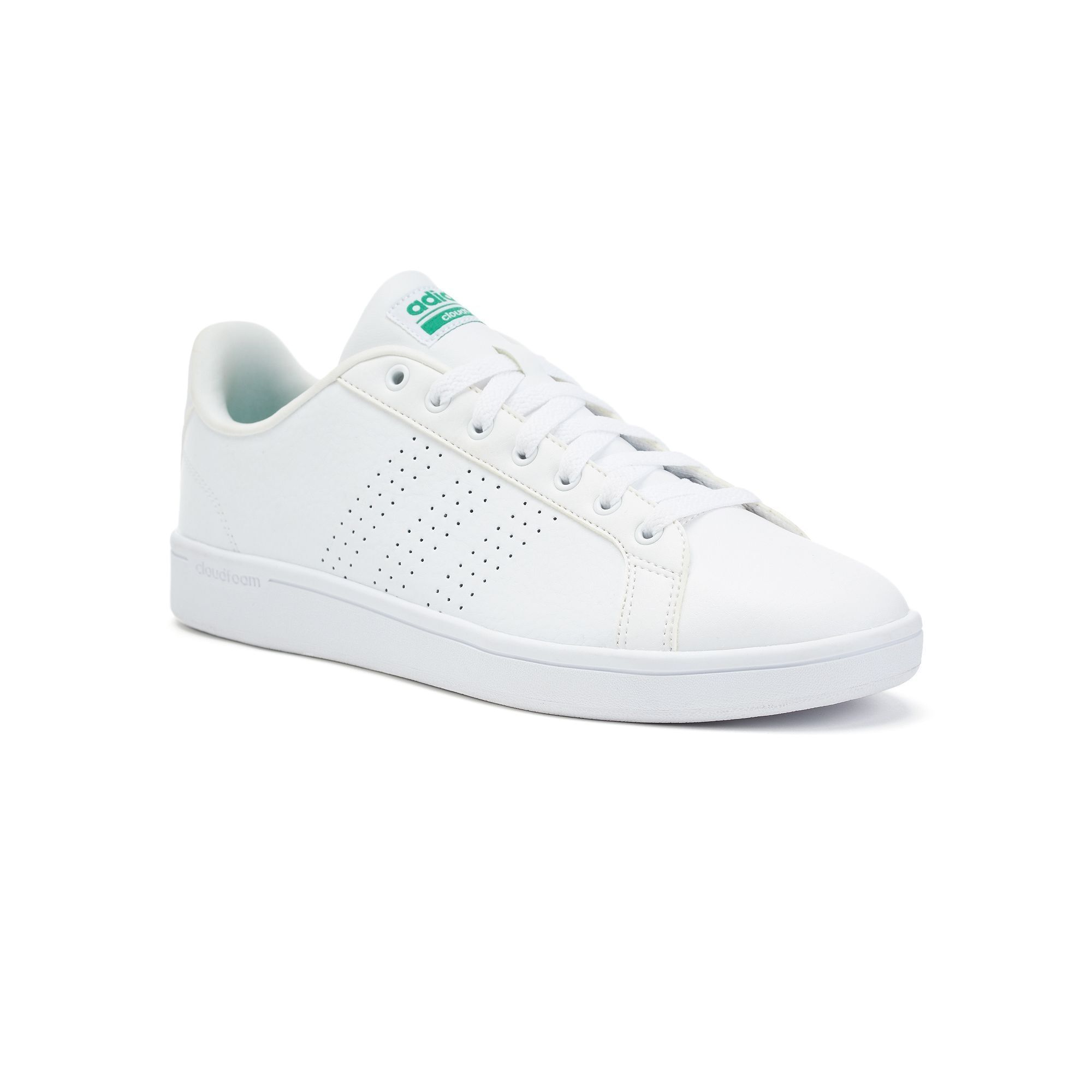 adidas NEO Cloudfoam Advantage Clean Men's Leather Sneakers ...