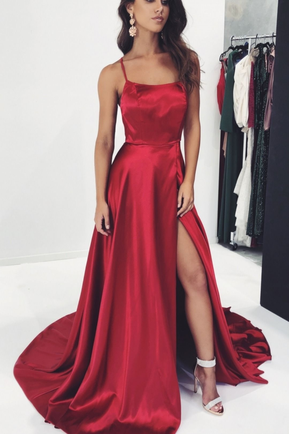 SGD016 Aline Long Prom Dress, Popular Dance Dress ,Fashion Wedding Party Dress - Prom night dress, Red prom dress, Satin prom dress, Slit dress prom, Simple prom dress long, Evening dresses long - inch (end of arm) 4, Delivery time within1520days, this cost is paid for prior shipping and sewers who would like to work extra time to finish this dress   Normal time Within 25 days (From May to Dec)  Around 30 days (From Jan to April), it's busy season together with spring festival holiday, so produce time will be long  5, Packing in order to save your shipping cost, each dress will be packed tightly with water proof bag   6, Shipping by Fedex or some special airline  7, Payment Paypal, bank transfer, western union, money gram and so on  8, Return Policy HOTLADY prom dress  We will accept returns if dresses have quality problems, wrong delivery time, we also hold the right to refuse any unreasonable returns, such as wrong size you gave us or standard size which we made right, but we offer free modify   Please see following for the list of quality issues that are fully refundable for  Wrong Size, Wrong Colour, Wrong style, Damaged dress 100% Refund or remake one or return 50% payment to you, you keep the dress  In order for your return or exchange to be accepted, please carefully follow our guide  1  Contact us within 2 days of receiving the dress (please let us know if you have some exceptional case in advance)  2  Provide us with photos of the dress, to show evidence of damage or bad quality, this also applies for the size, or incorrect style and colour etc   3  The returned item must be in perfect condition (as new), you can try the dress on, but be sure not to stretch it or make any dirty marks, otherwise it will not be accepted   4  The tracking number of the returned item must be provided together with the reference code issued   5  If you prefer to exchange dresses, then a price difference will be charged if more expensive   6  You are required to pay for the shipp