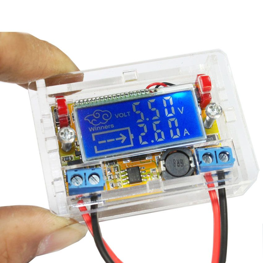 diy kit DC - DC adjustable step-down Regulated power supply module Belt…