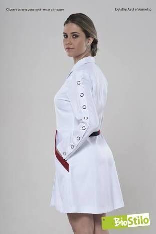 Resultado de imagen para jaleco fashion feminino