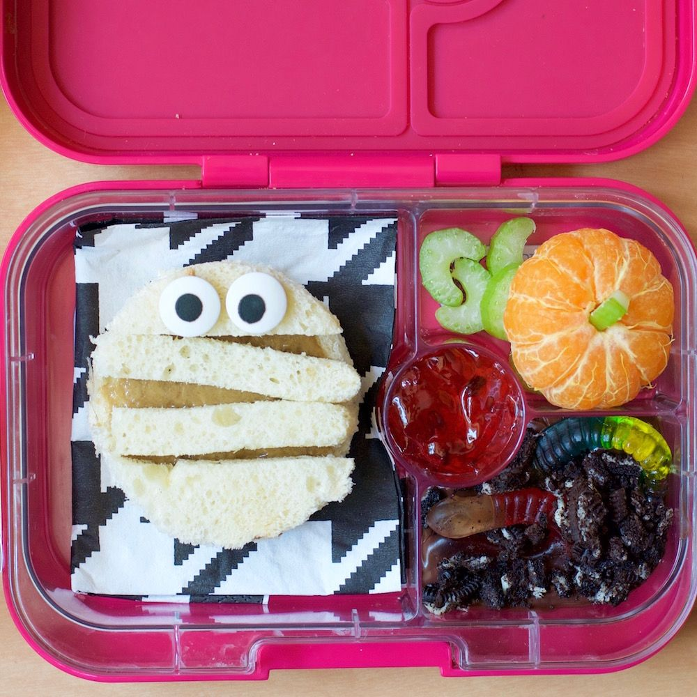Halloween Bento Lunch for Kids