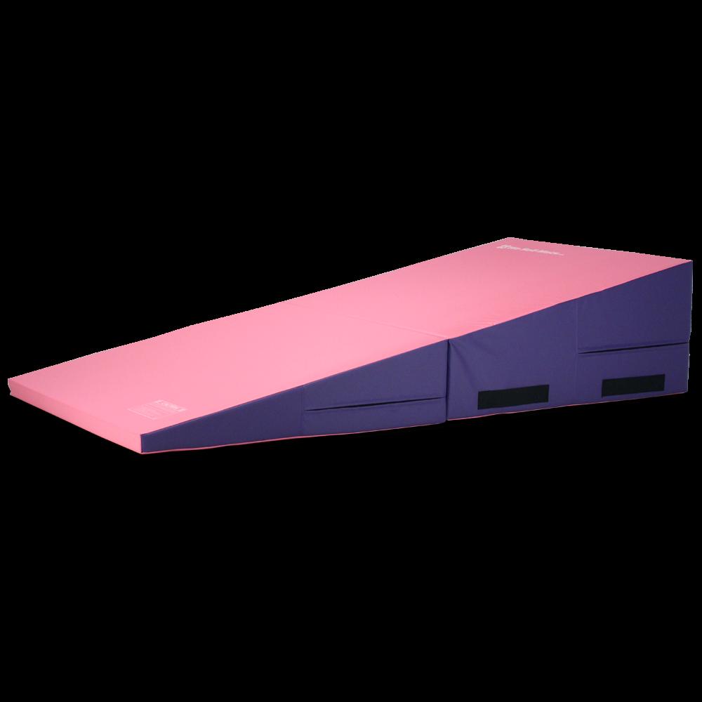 large incline colors medium plus gymnastics mat mats and pin