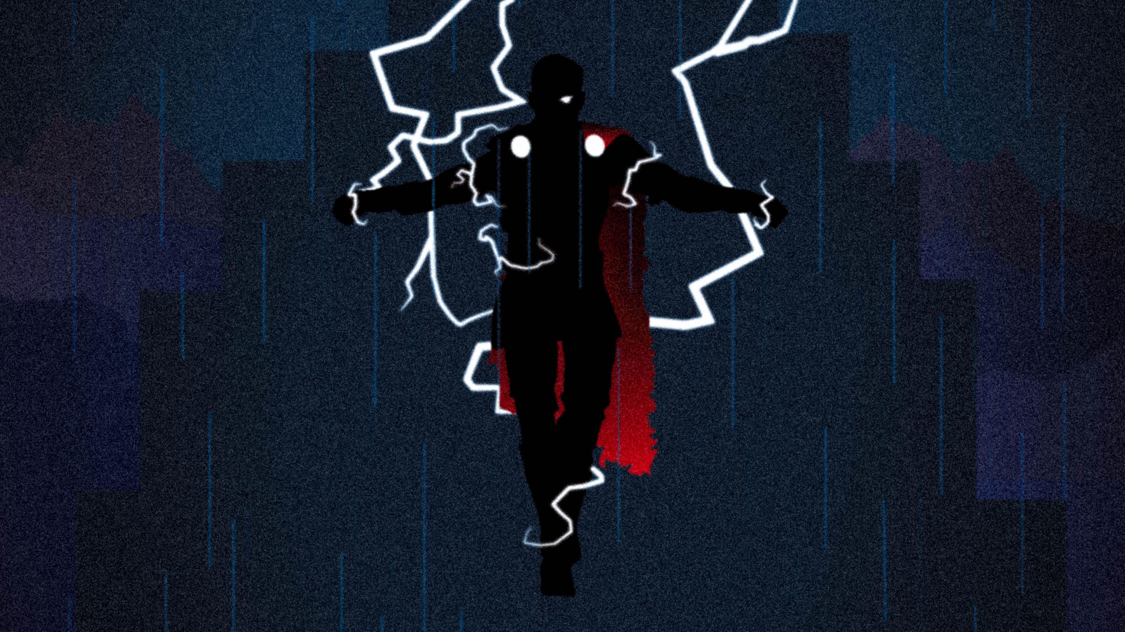 God Of Thunder Thor 4k Thor Wallpapers Superheroes Wallpapers Hd Wallpapers Digital Art Wallpapers Behance Thor Wallpaper Superhero Wallpaper Art Wallpaper