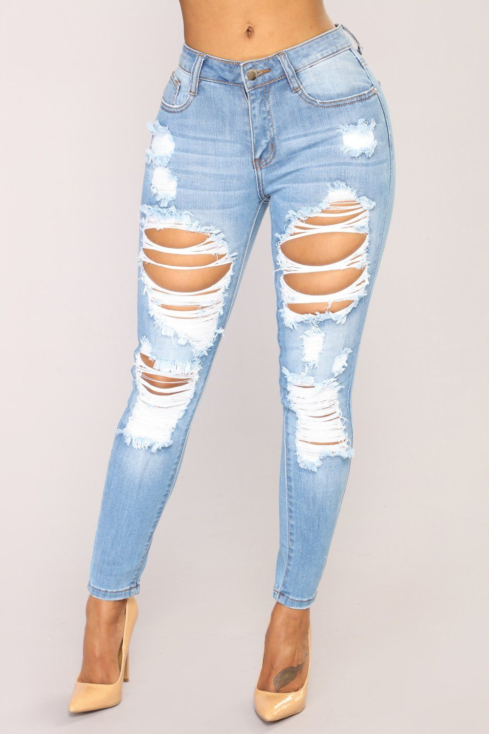 Give Good Love Skinny Jeans Light Blue Wash Light Ripped Jeans Light Blue Ripped Jeans Best Jeans For Women,Low Budget Backyard Desert Landscaping Ideas On A Budget