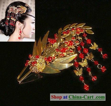 Chinese hair piece. | Hanfu, Chinese, Chinese