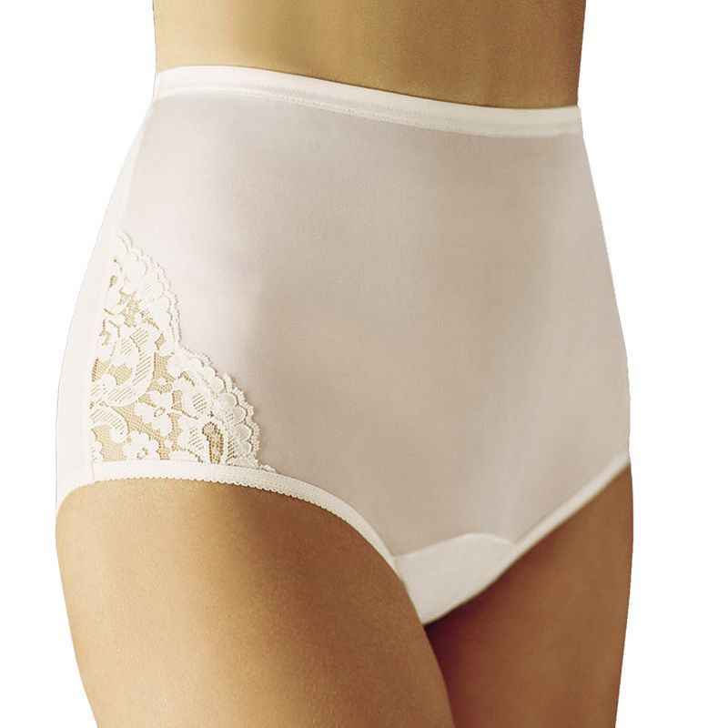 733371849fa1 Vanity Fair Perfectly Yours Lace Nouveau Brief 13001 - Women's, Size: 10,  White