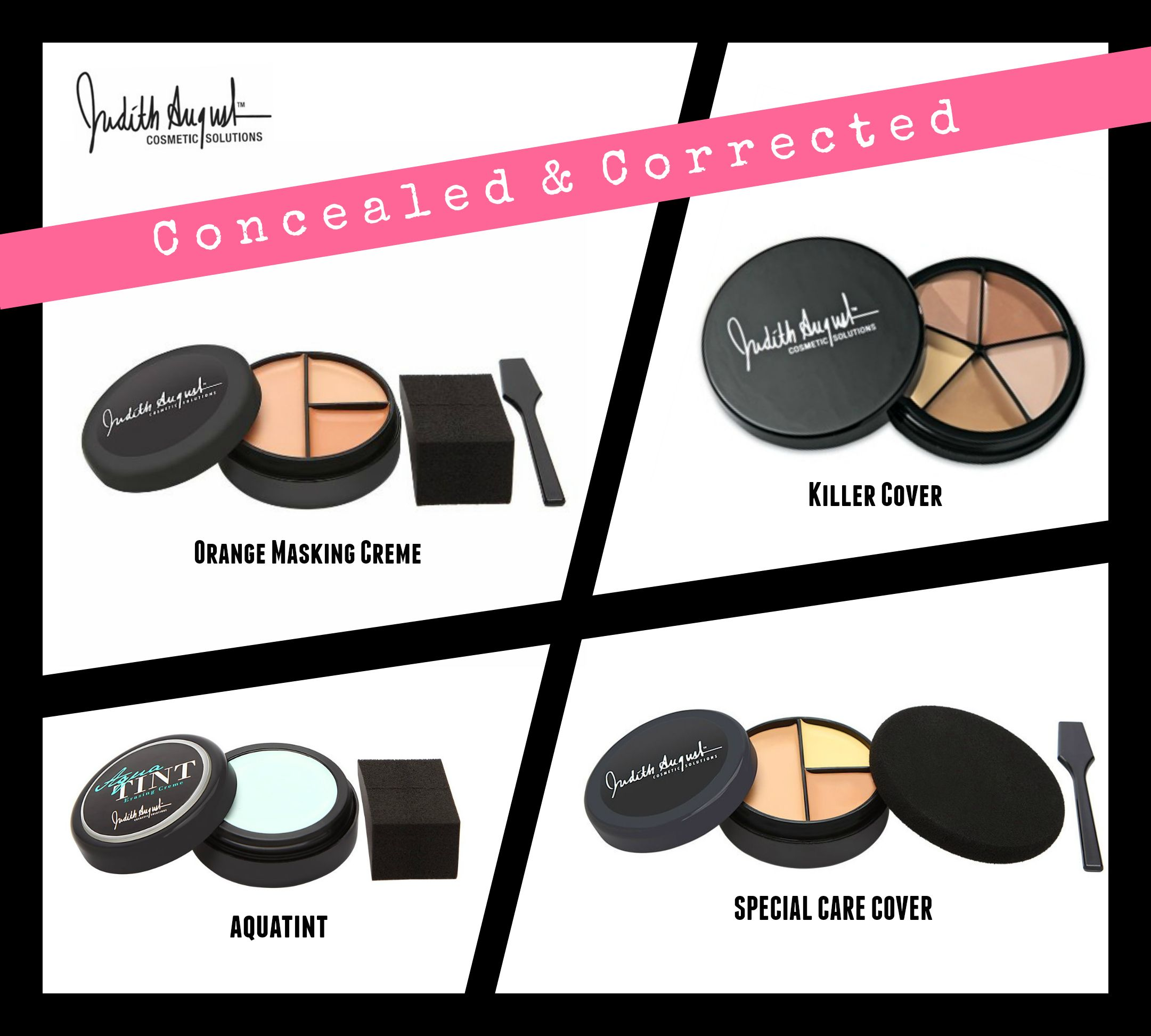 Covered, Concealed, & Corrected. Best concealer makeup to
