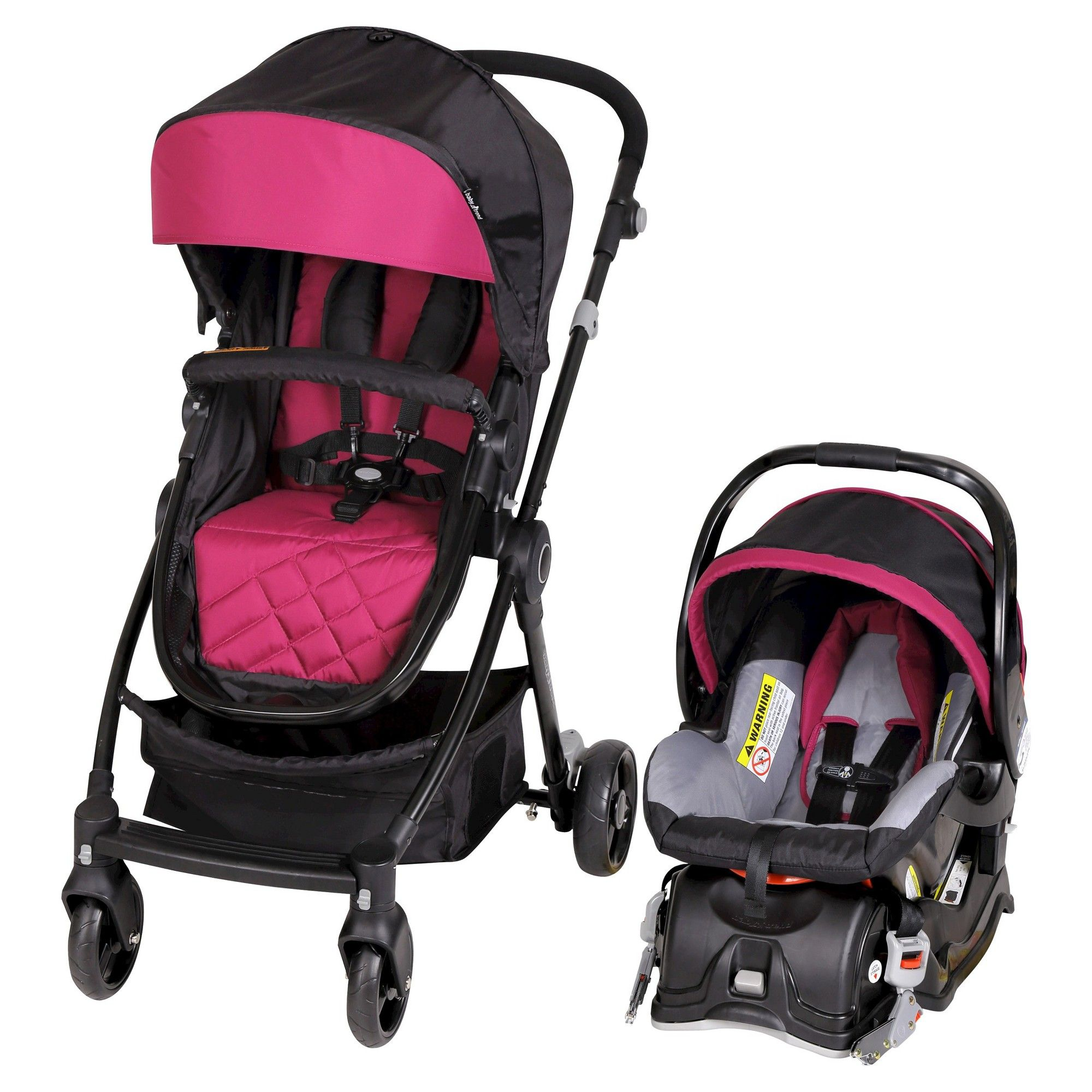 City Clicker Travel System Wine (Red) Travel systems
