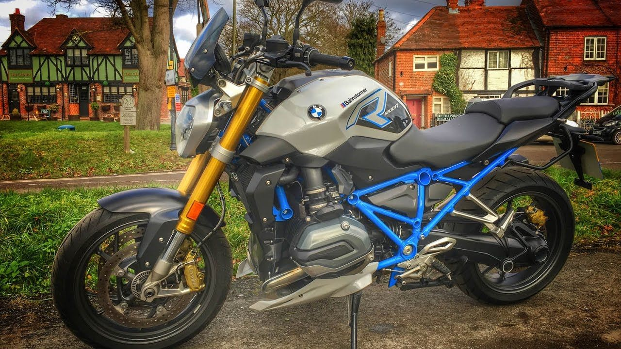 2017 BMW R1200R Review YouTube BMW R1200R Pinterest BMW