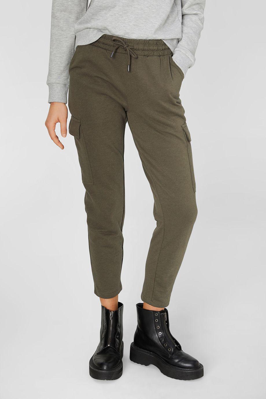 Cargo Trousers In 2020 Cargo Trousers Sweatshirt Fabric Comfy Fashion