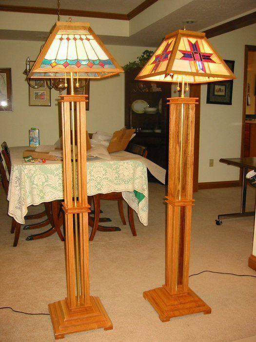 Pin On Just Plain Good Stuff Craftsman style floor lamps