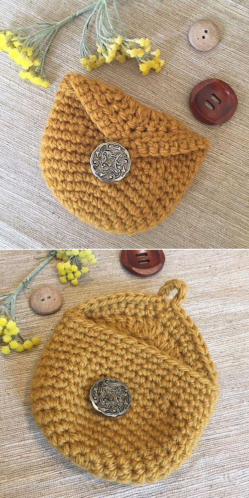 Crochet Coin Purse Very Easy