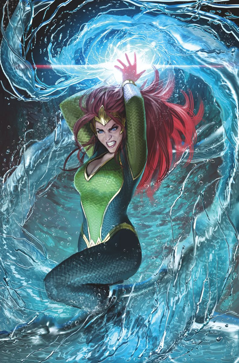 Aquaman #27 Written By Dan Abnett €� Art And Cover By Stjepan Sejic €� Variant