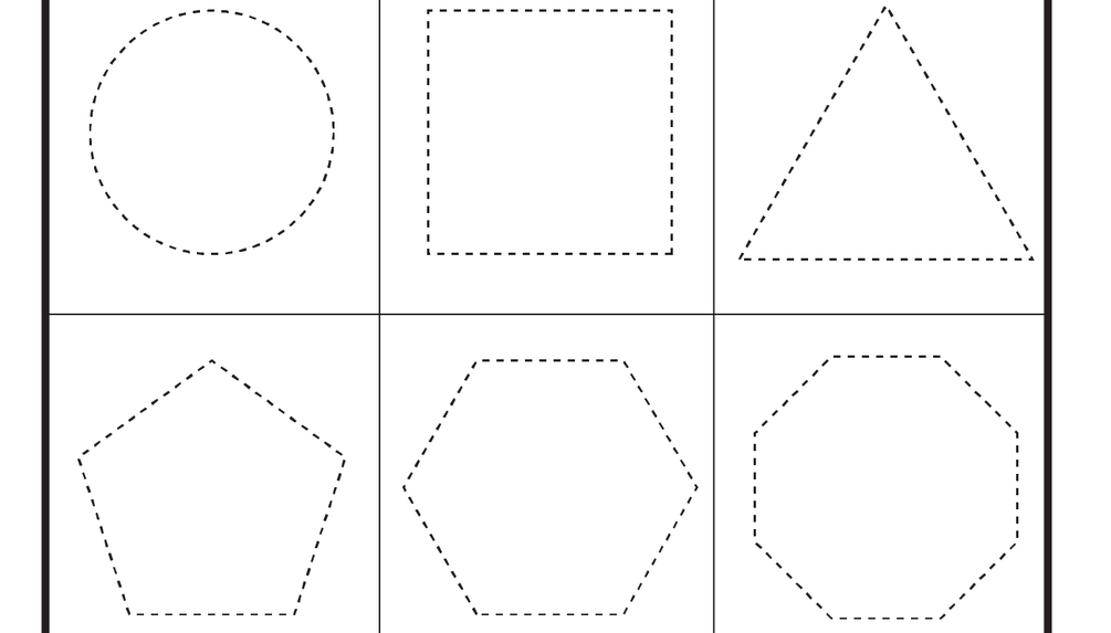 Preschool Shapes -Heart, Star, Circle, Square, Triangle