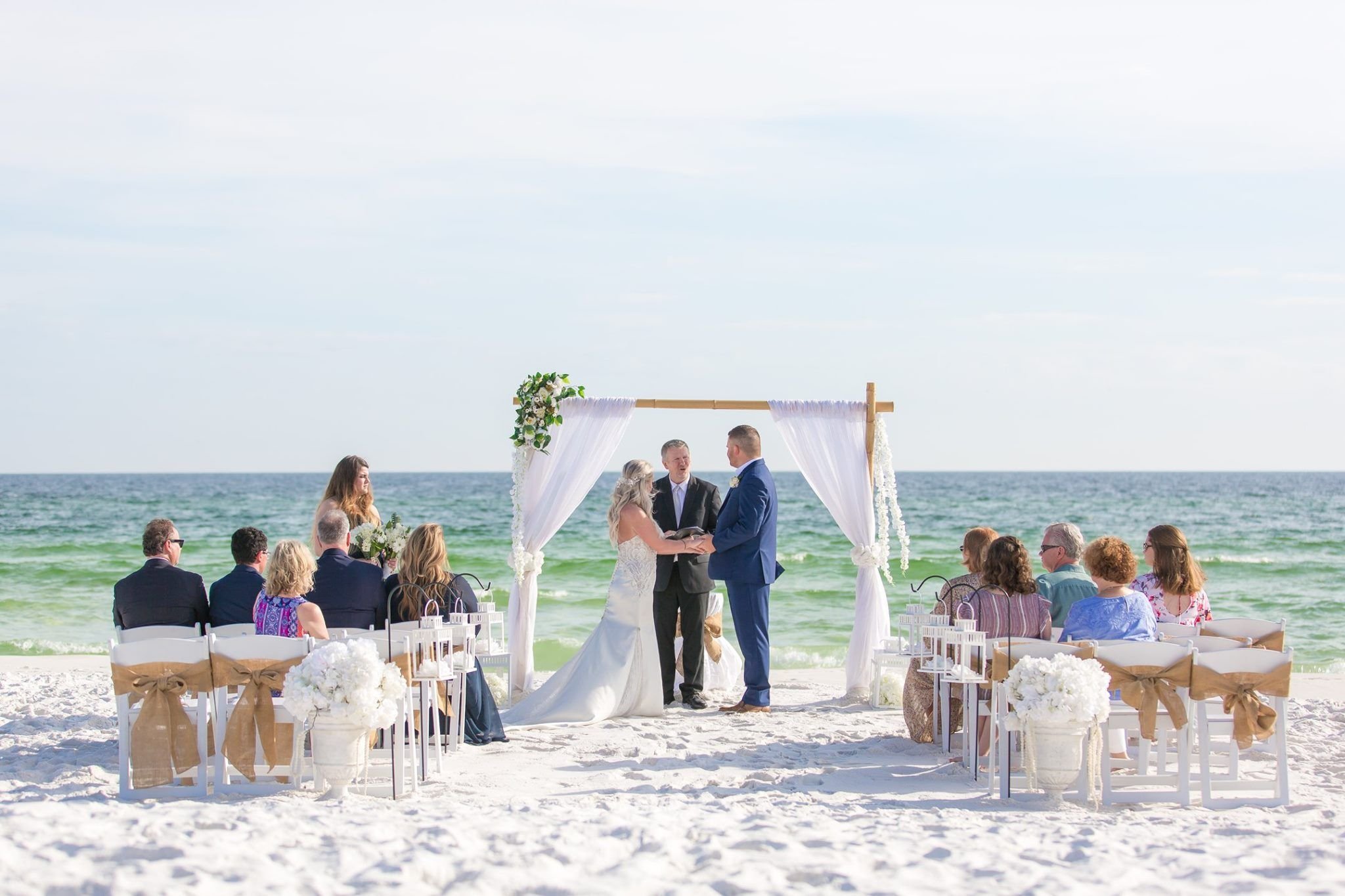 Panama City Wedding Ceremony Florida In 2020 Florida Beach Wedding Beach Wedding Packages Panama City Beach Florida
