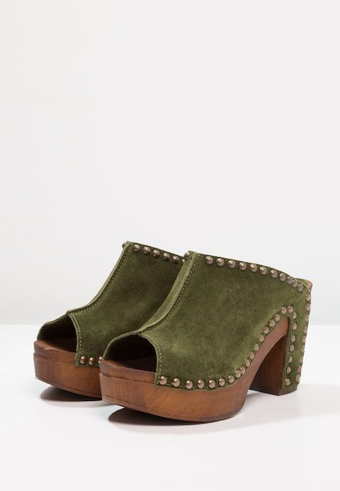 Replay XIANA - Clogs - military green 9raFcEwa
